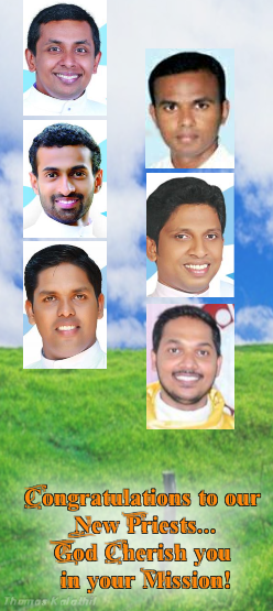 New Priests of Cochin - 2016